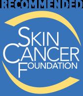 logo recommended skin cancer foundation