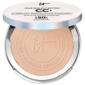 yiour skin but better it comsetrics cd + airbrush perfect perfectding powder