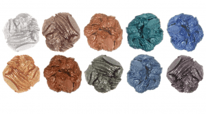 models own eye shadow vintage rose colors swatches