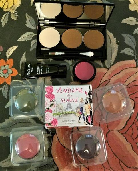 vendome beaute Paris group of products1