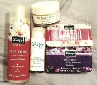 kneipp face and body 2018