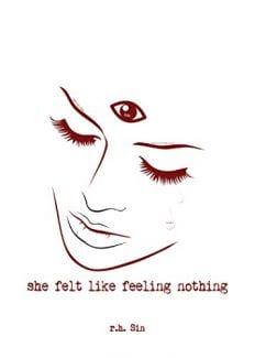 she felt like feeling nothing book