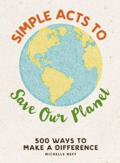 book simple acts to save our planet by Michelle Neff book cover