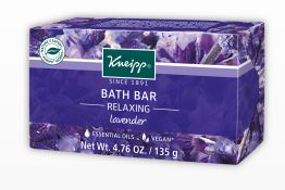 Kneipp lavender bath bar