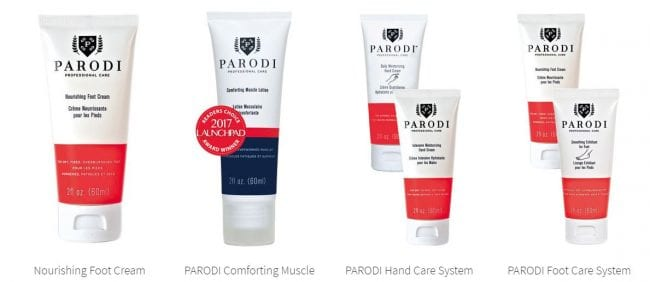 PARODI professional care products this is a group of some products