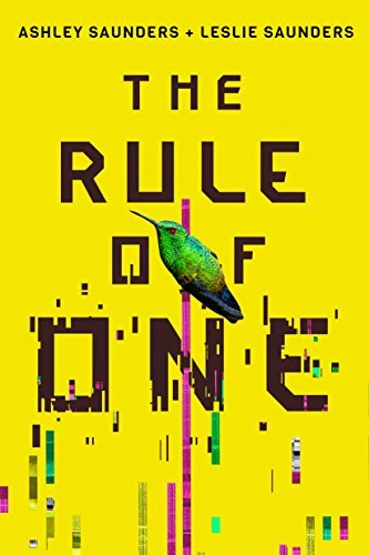 stock photo book cover the rule of one by Leslie and Ashley saunders