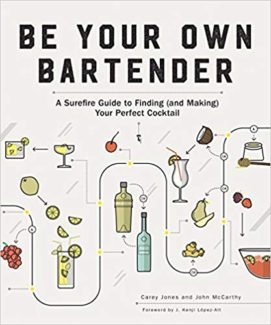 be your own bartemder by carey jones and john mcCarthy book cover