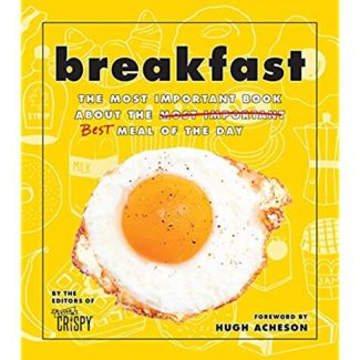 breakfast by editors of extra crispy book cover